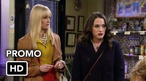 "2 Broke Girls 2x15 Promo ""And the Psychic Shakedown"" (HD)"