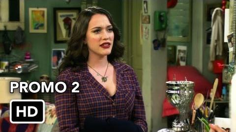 """2 Broke Girls 2x07 Promo 2 """"And the Three Boys With Wood"""" (HD)"""