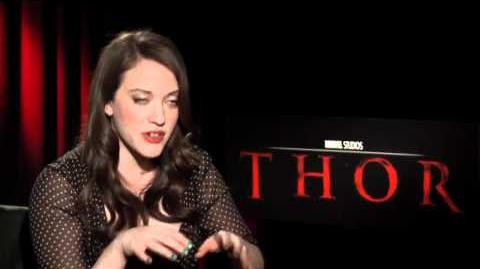 THOR God of Thunder Kat Dennings Exclusive Interview