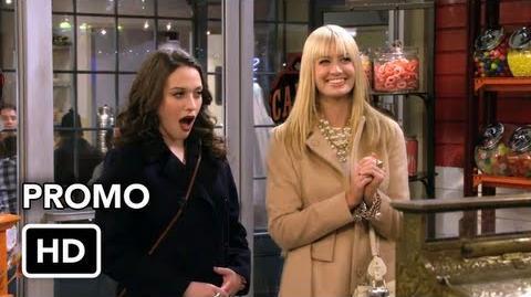 "2 Broke Girls 2x06 Promo ""And the Candy Manwich"" (HD)"