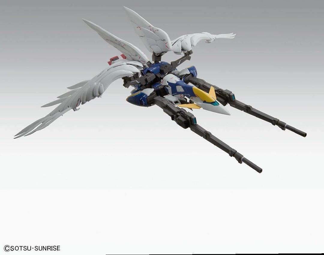 Official Images Of The Mg Chicken Wing Gundam Zero Ew Ver Ka Dats A Lot Of Water Slides Fandom