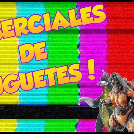Godzilla En Comerciales #3 Juguetes! | Jose V.R.