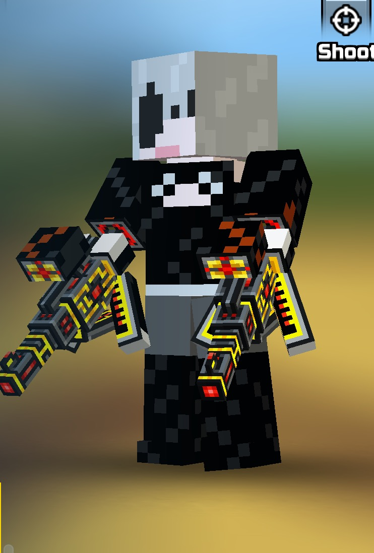 Rate my shading pls? (It's 2B skin that I created minutes ago)