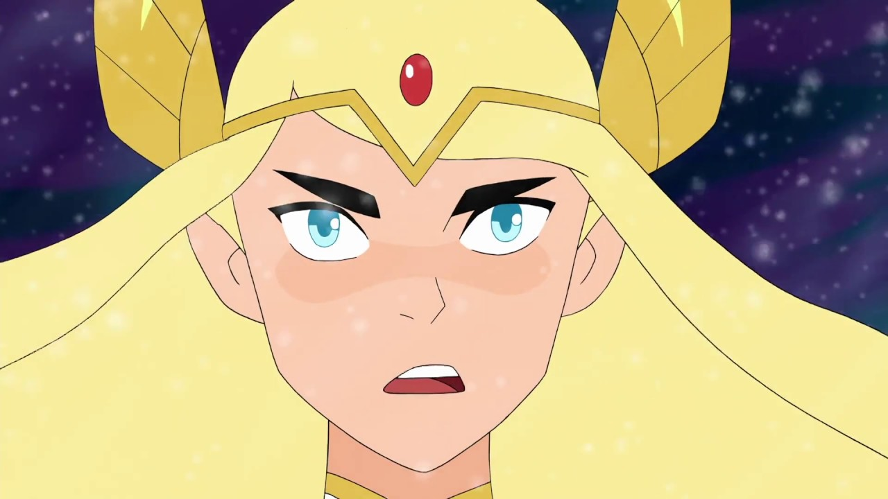 modern she ra but with 80s voiceovers
