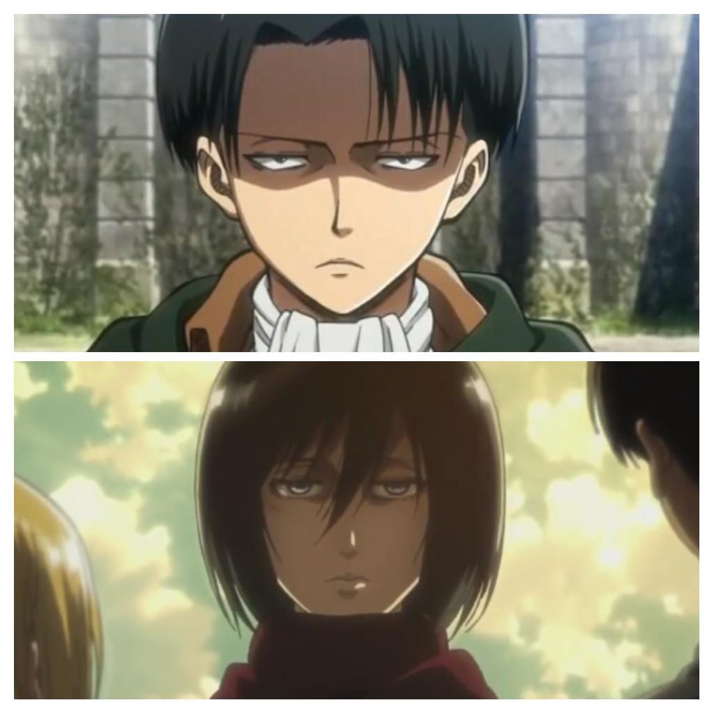 Mikasa et Livaï