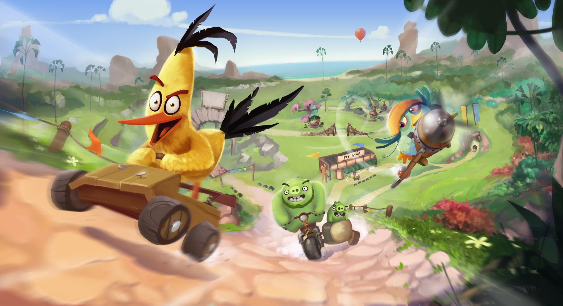 Angry Birds Go! 2 and Bad Piggies 2