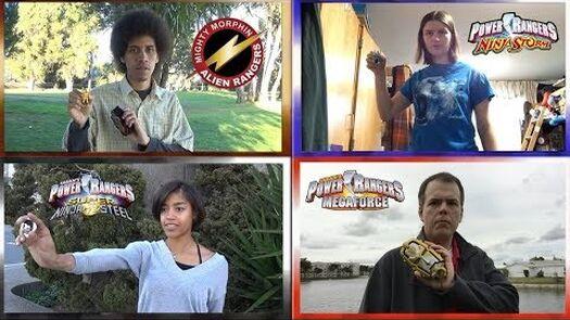 Power Rangers Fan Morph Collab (Legendary Alien, Ninja Storm, Super Ninja Steel & Megaforce)