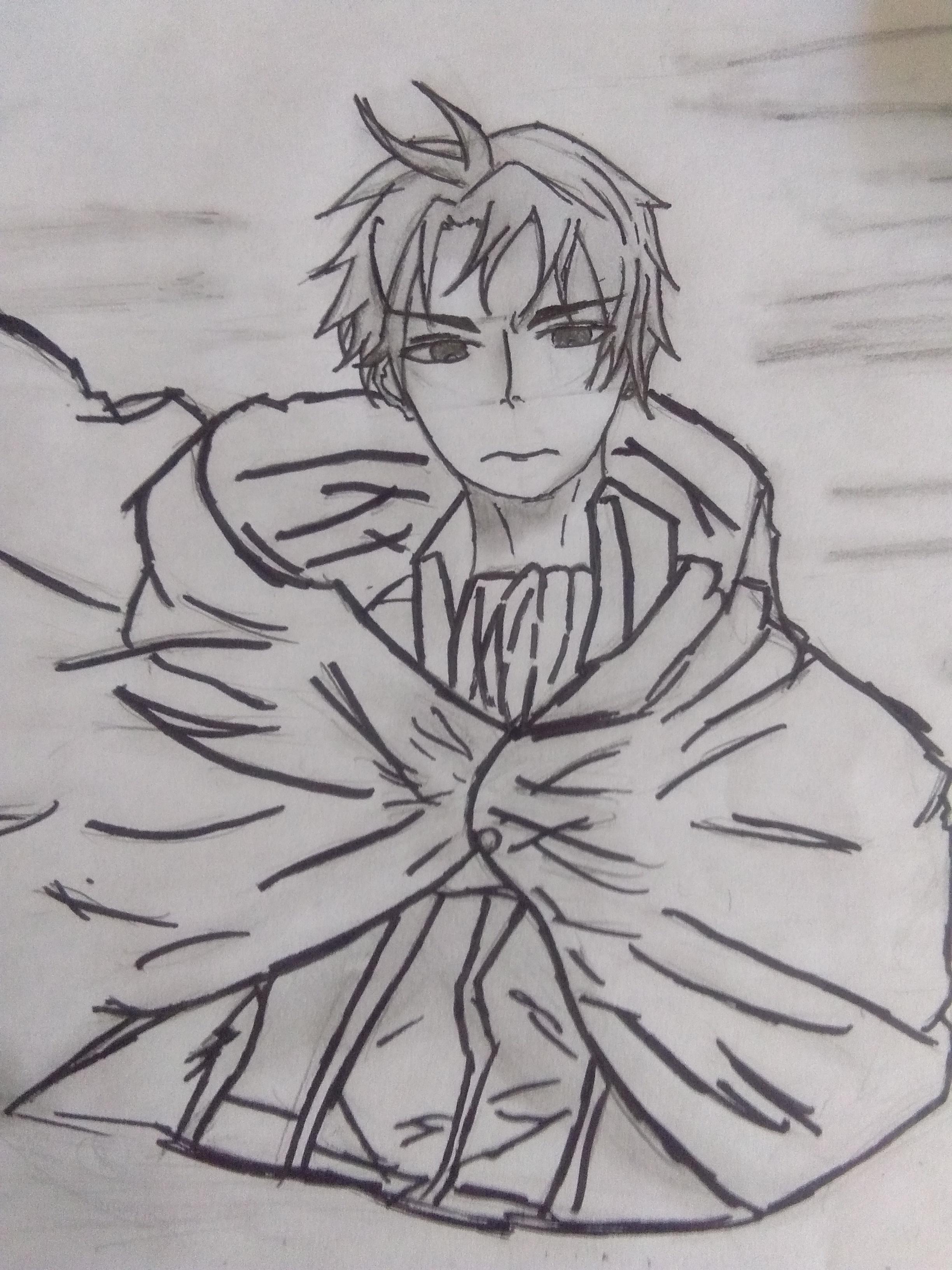 Wtf! im drawing (?)!