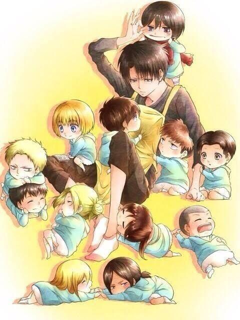 Levi has his hands full