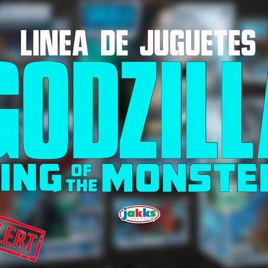 Nueva Linea de Juguetes de Godzilla: King of the Monsters | MonsterVerse | TL2Bie