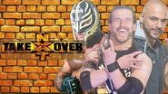 Adam Cole, Rey Mysterio & Ricochet battle for the NXT Title at Takeover Homecoming