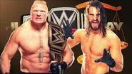 WWE 2K16 Universe Mode Judgment Day 2016 Final Match Card