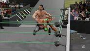 Seth Rollins retains the World Championship at MITB (WWE 2K16 Universe Mode)