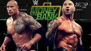 The Rock battles Batista at Money in the Bank (WWE 2K16 Universe Mode)