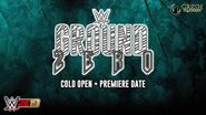 The Cold Open for WWE Ground Zero Premiere Date - WWE 2K19 Universe Mode