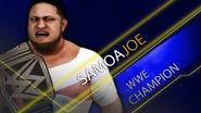 WWE Championship (Samoa Joe) SmackDown