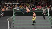 Samoa Joe has a message for Management at MITB (WWE 2K16 Universe Mode)