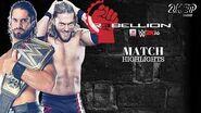 WWE 2K16 Universe Mode WWE Rebellion 2016 ( 17) Seth Rollins vs