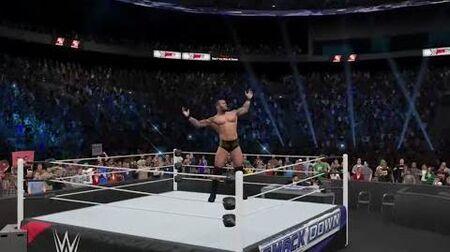-WWE2K15_-_-UniverseMode_(Episode_28)_-_Smackdown!_-_The_Champ_gets_bitten