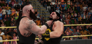 KOTRSemiFinal (Reigns-Strowman) (1) - King of the Ring (2017)