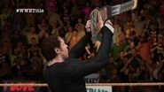 WWE 2K16 Universe Mode Exclusive Dean Ambrose receives his sideplates (WWE Judgment Day)