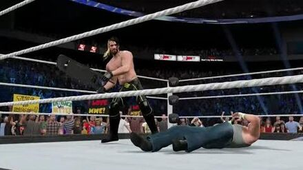 "-WWE2K15_Universe_Mode_-_-Smackdown!_-_Episode_19_-_""6-Man_Clash"""
