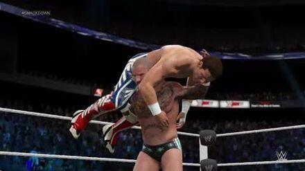 "-WWE2K15_Universe_Mode_-_-Smackdown!_-_Episode_18_-_""Brothers_Reunite"""