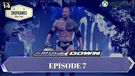 """-WWE2K16_Universe_Mode_-_Smackdown!_-_Episode_34_-_""""GOLD_RUSH_CONTINUES"""""""