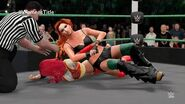 Becky Lynch wins the WWE Women's Title at MITB (WWE 2K16 Universe Mode)