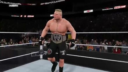 """-WWE2K15_Universe_Mode_-_-Smackdown!_-_Episode_28_-_""""A_Beast_with_a_Message!"""""""