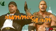 The Rock battles Shawn Michaels for the First Time at Summerslam (Universe Mode Official Promo)