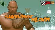 WWE 2K19 Universe Mode WWE Summerslam (Year IV) Official Promo