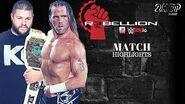 WWE 2K16 Universe Mode WWE Rebellion 2016 ( 17) Kevin Owens vs
