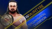 Intercontinental Championship (Drew McIntyre) SmackDown