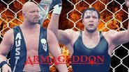 Dean Ambrose defends the WWE World Title against Stone Cold at Armageddon