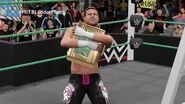 Dolph Ziggler wins the Money in the Bank Ladder Match (WWE 2K16 Universe Mode)