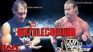 Dolph Ziggler defends the WWE Title against Dean Ambrose at Battleground (WWE 2K17 Universe Mode)