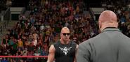 Rock-Triple H (RAW Ep.7) (2)