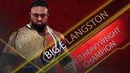 World Heavyweight Championship (Big E Langston) RAW