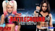 WWE 2K17 Universe Mode WWE Battleground Pre-Show