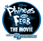 Phineas and Ferb The Movie transparent logo