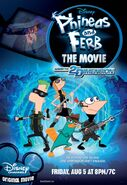 Phineas and Ferb Across the 2nd Dimension poster
