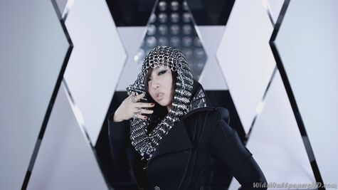Gong-Min-ji-In-Black-I-am-The-Best-K-Pop-2NE1-Wallpapers