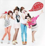 2NE1 Try to Follow Me Cover