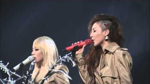 2NE1 2012 1st Global Tour NEW EVOLUTION in Japan ( It Hurts )