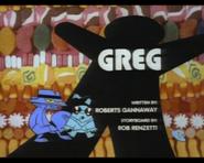 Greg title card