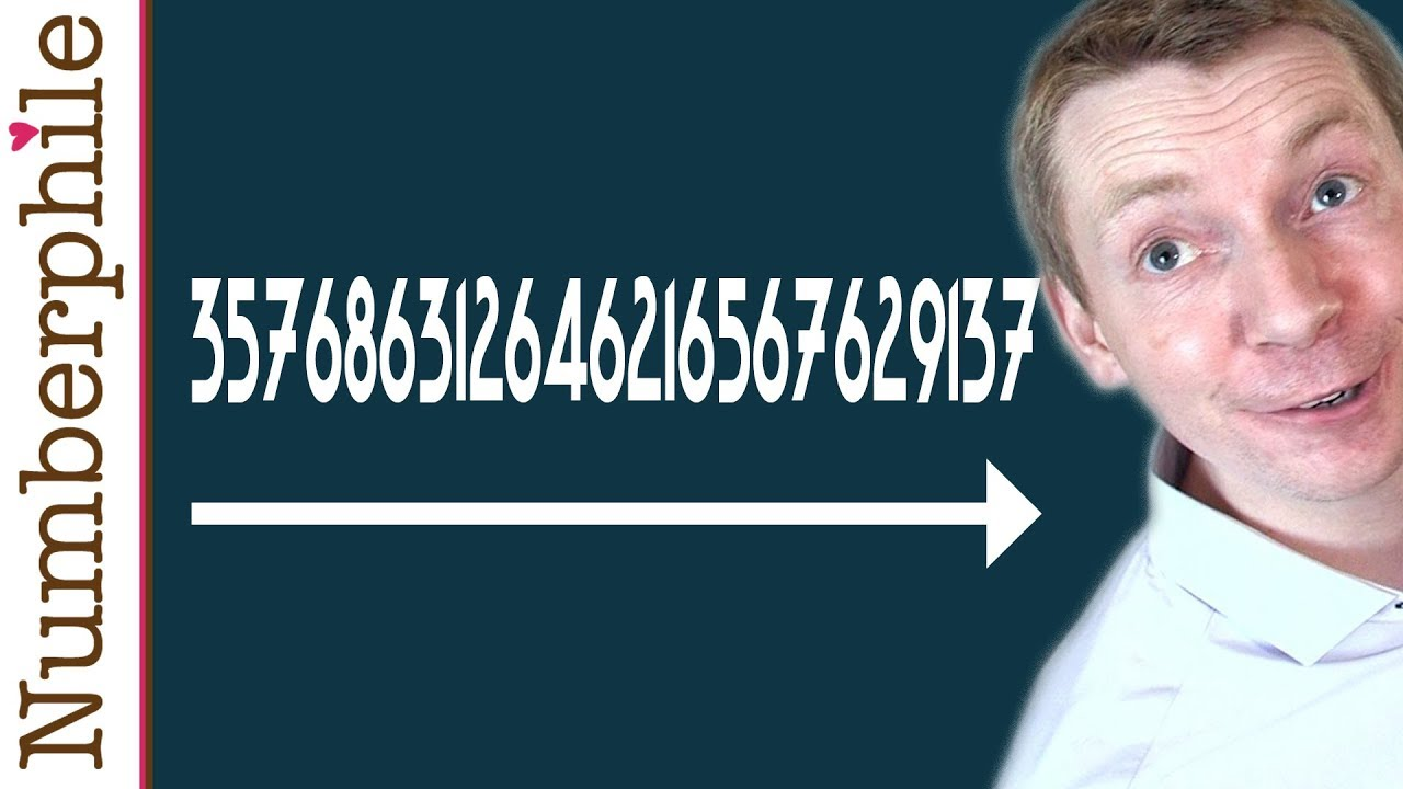 357686312646216567629137 - Numberphile