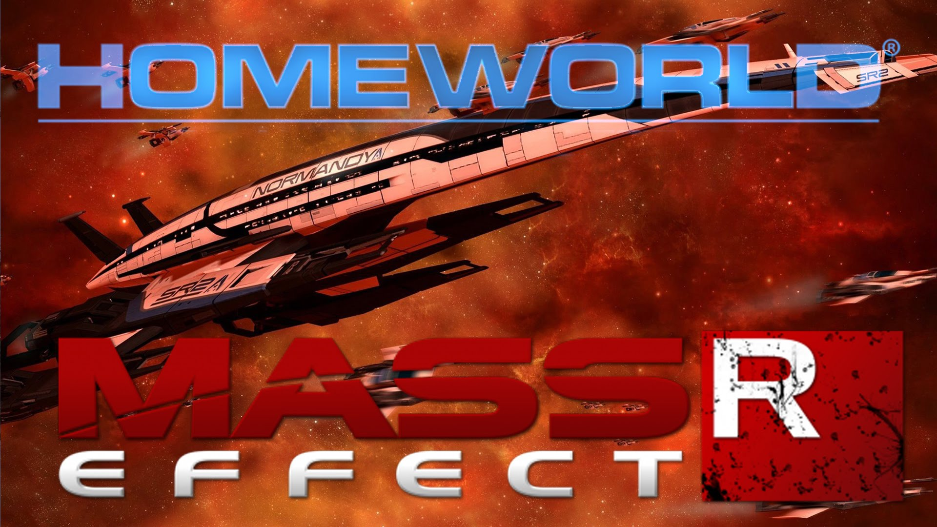Mass Effect Reborn - Fighting the Reapers (Homeworld Remastered Workshop) Classic Homeworld 2 Mod