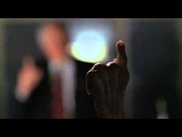 Stargate SG-1 Senator Kinsey and Supreme Commander Thor
