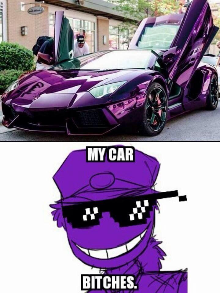 Carro do purple guy